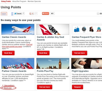 can i use qantas points to book a cruise